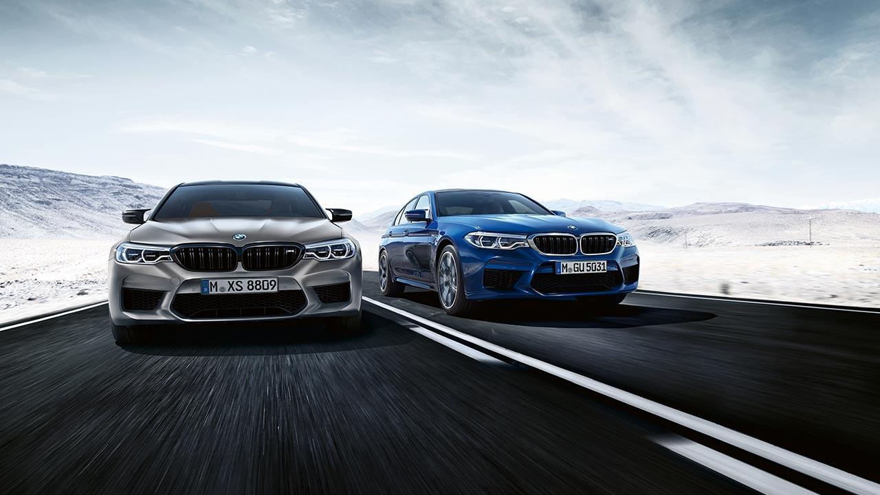 BMW M5 Competition - in zwei Farben