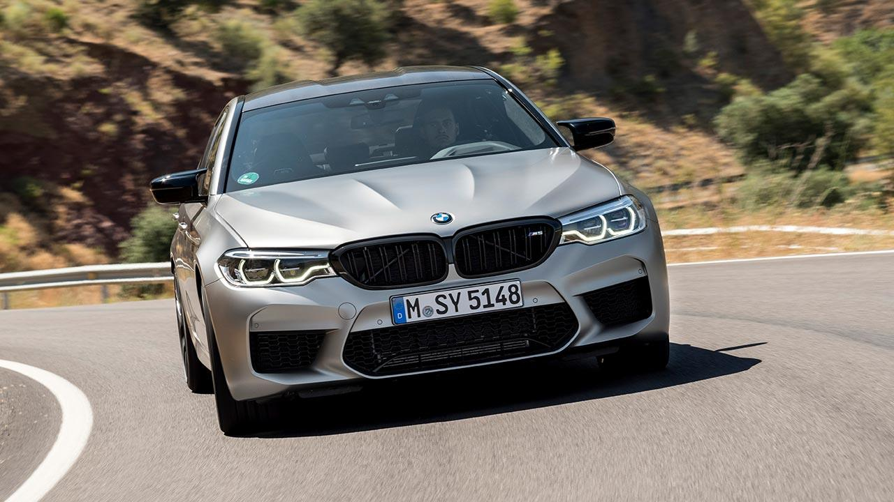 BMW M5 Competition - in voller Fahrt