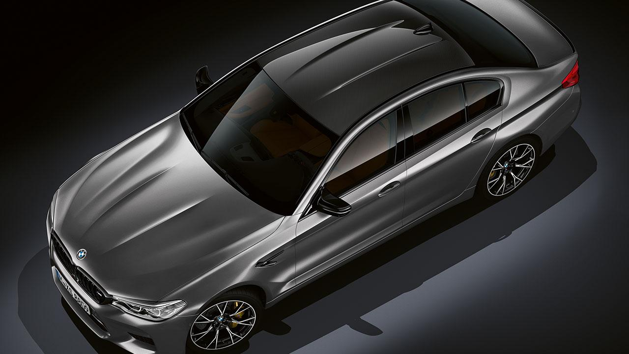 BMW M5 Competition - Vogelperspektive