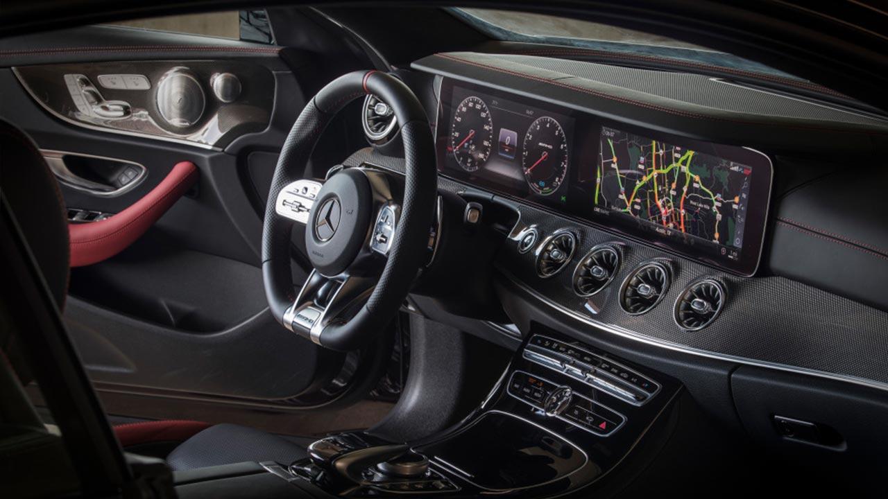Mercedes-AMG E 53 4MATIC - Cockpit