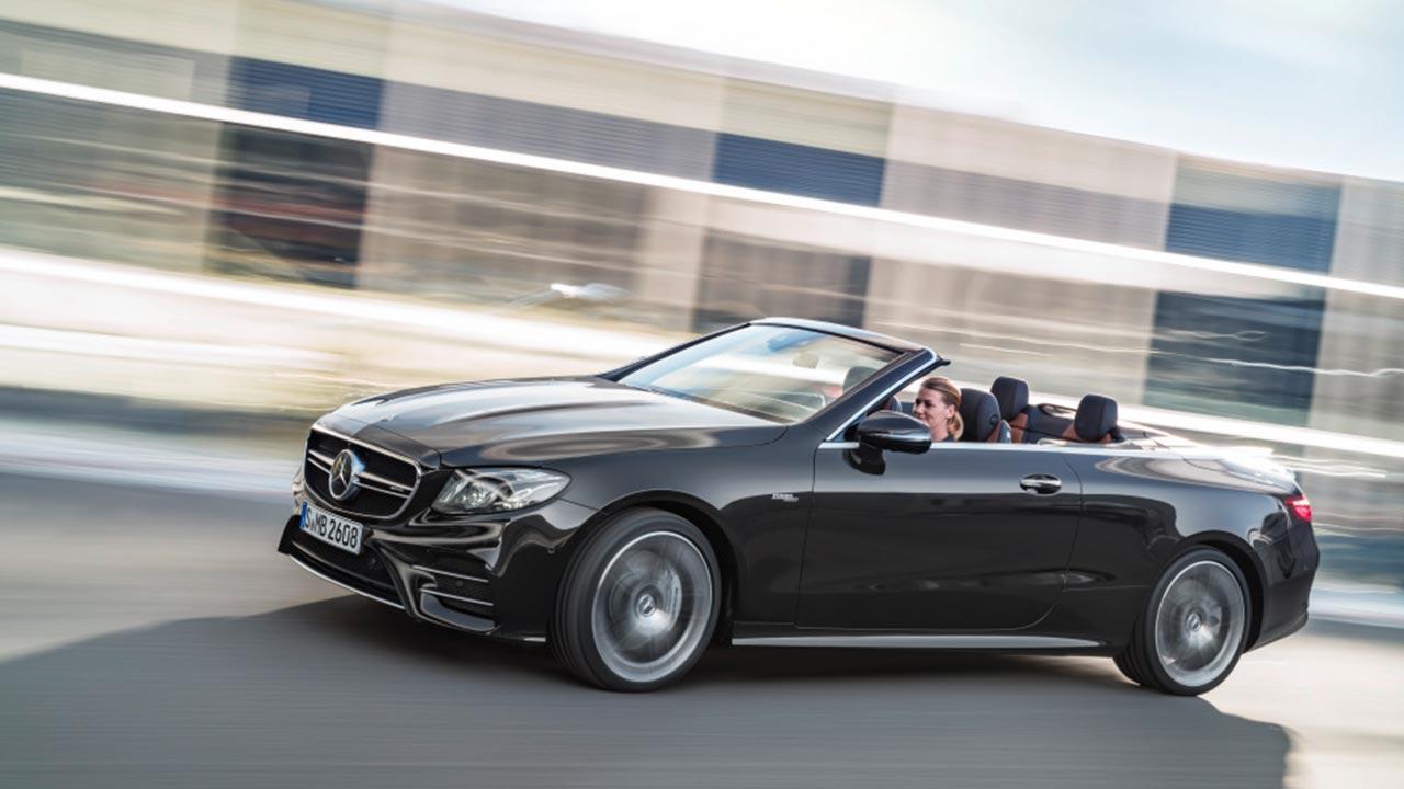 Mercedes-AMG E 53 4MATIC Cabrio - in voller Fahrt
