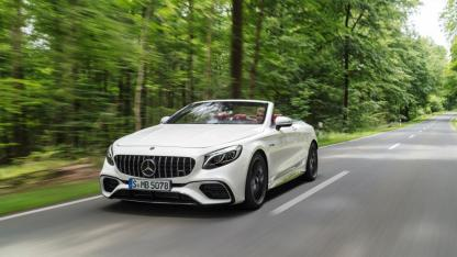 Mercedes-AMG S 63 4MATIC Cabrio