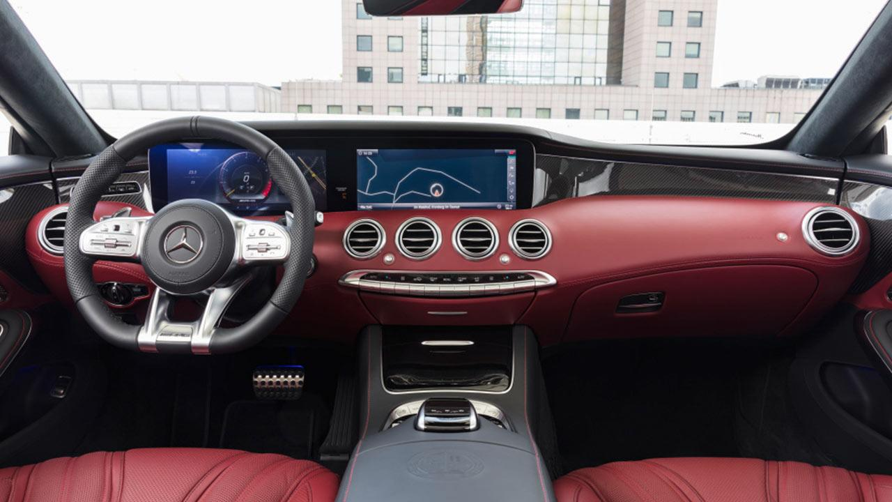 Mercedes-AMG S 63 4MATIC Cabrio - Cockpit
