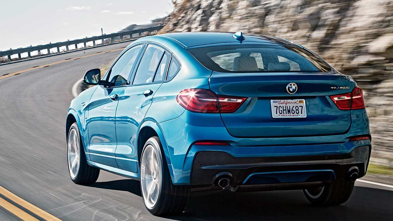 BMW X4 M40 - Heckansicht
