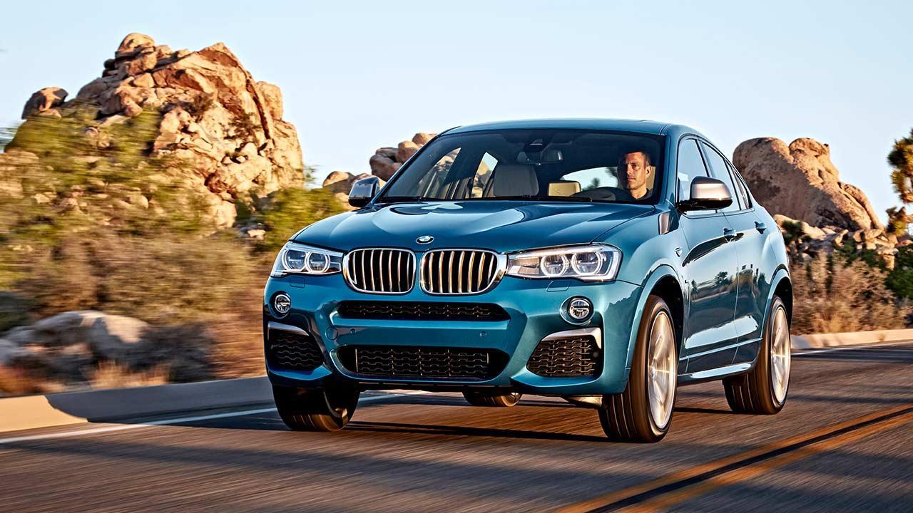 BMW X4 M40 - Frontansicht