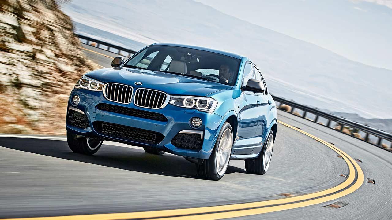 BMW X4 M40 - in voller Fahrt