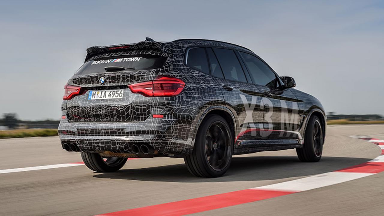 BMW X3 M - Frontansicht - Heckansicht