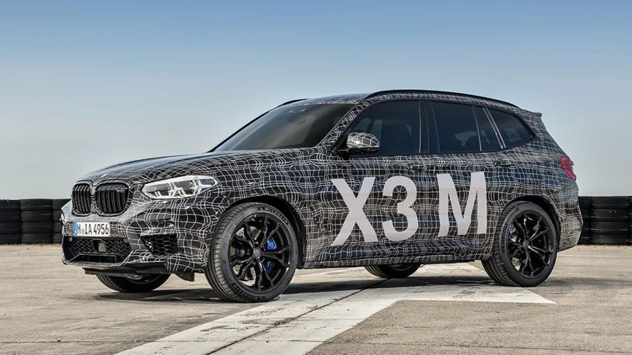 BMW X3 M - Frontansicht - Seitenansicht
