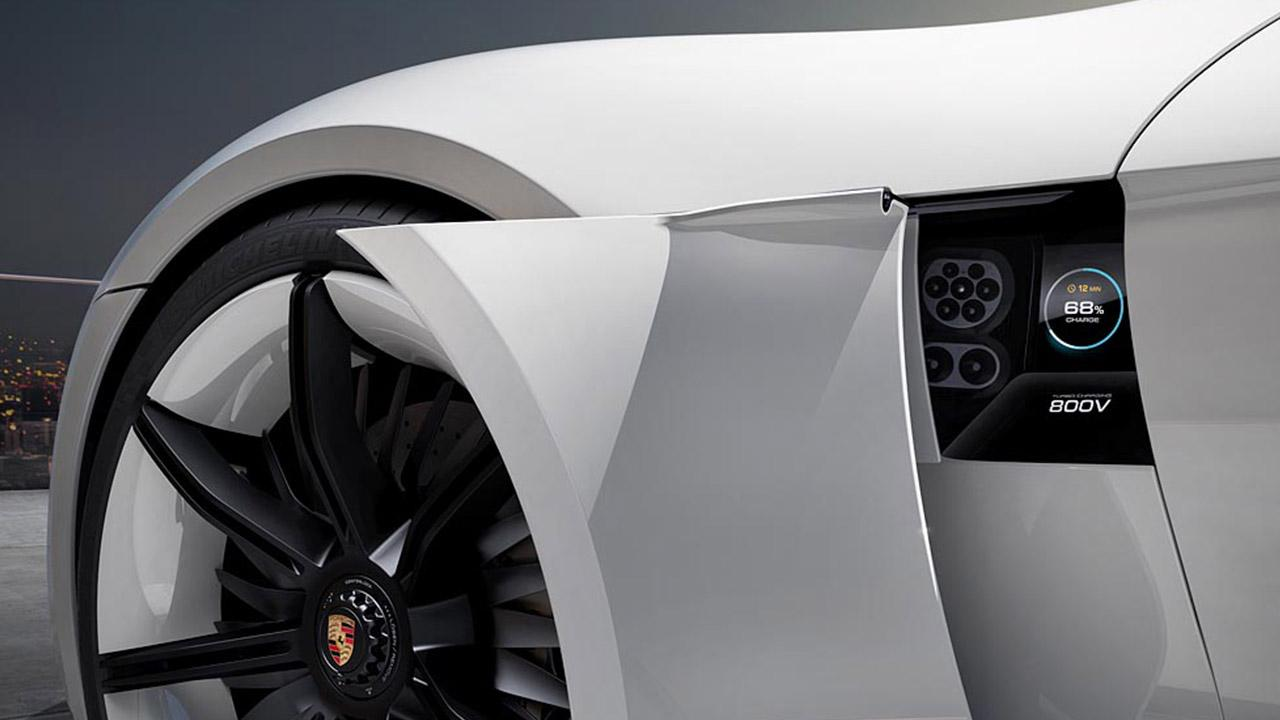 Porsche Taycan Misson E -  Plugin