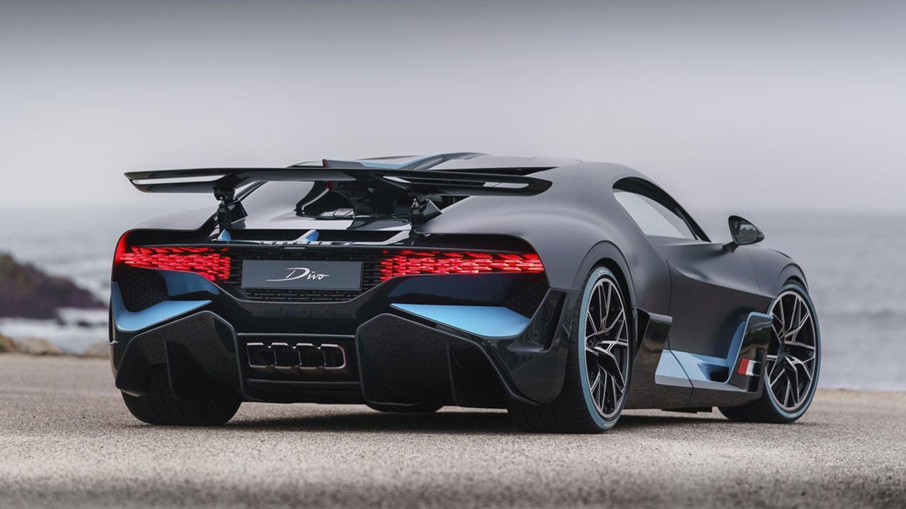Bugatti Divo - Heckansicht