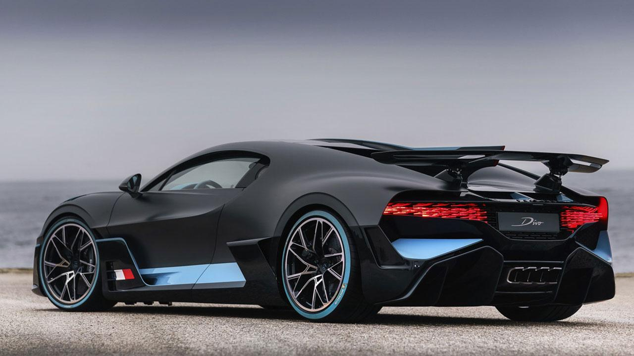 Bugatti Divo - Seitenansicht