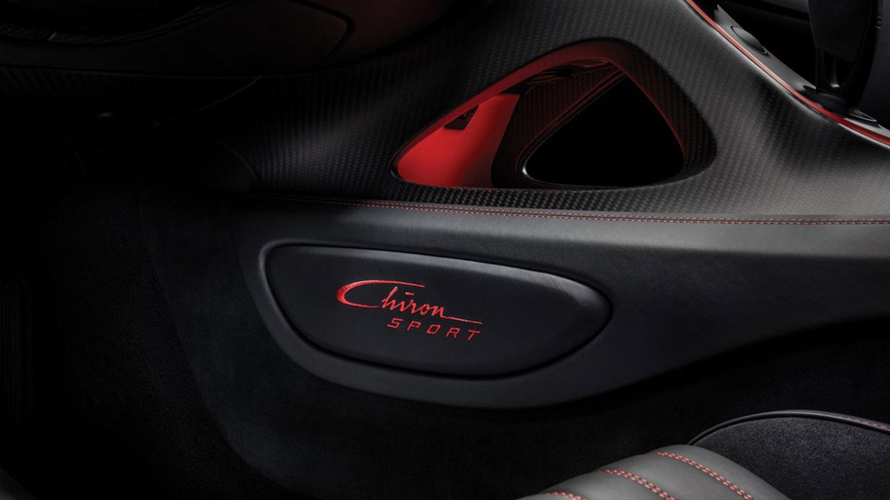 Bugatti Chiron Sport - Schriftzug