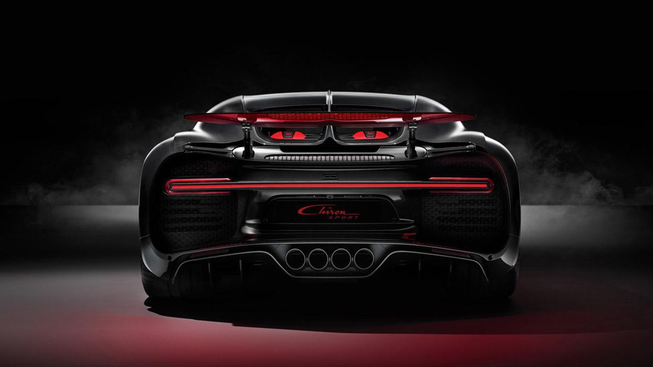 Bugatti Chiron Sport - Heckansicht