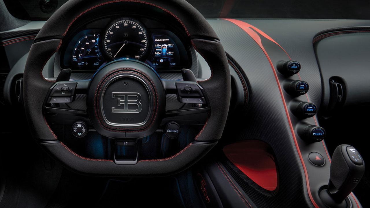 Bugatti Chiron Sport - Cockpit