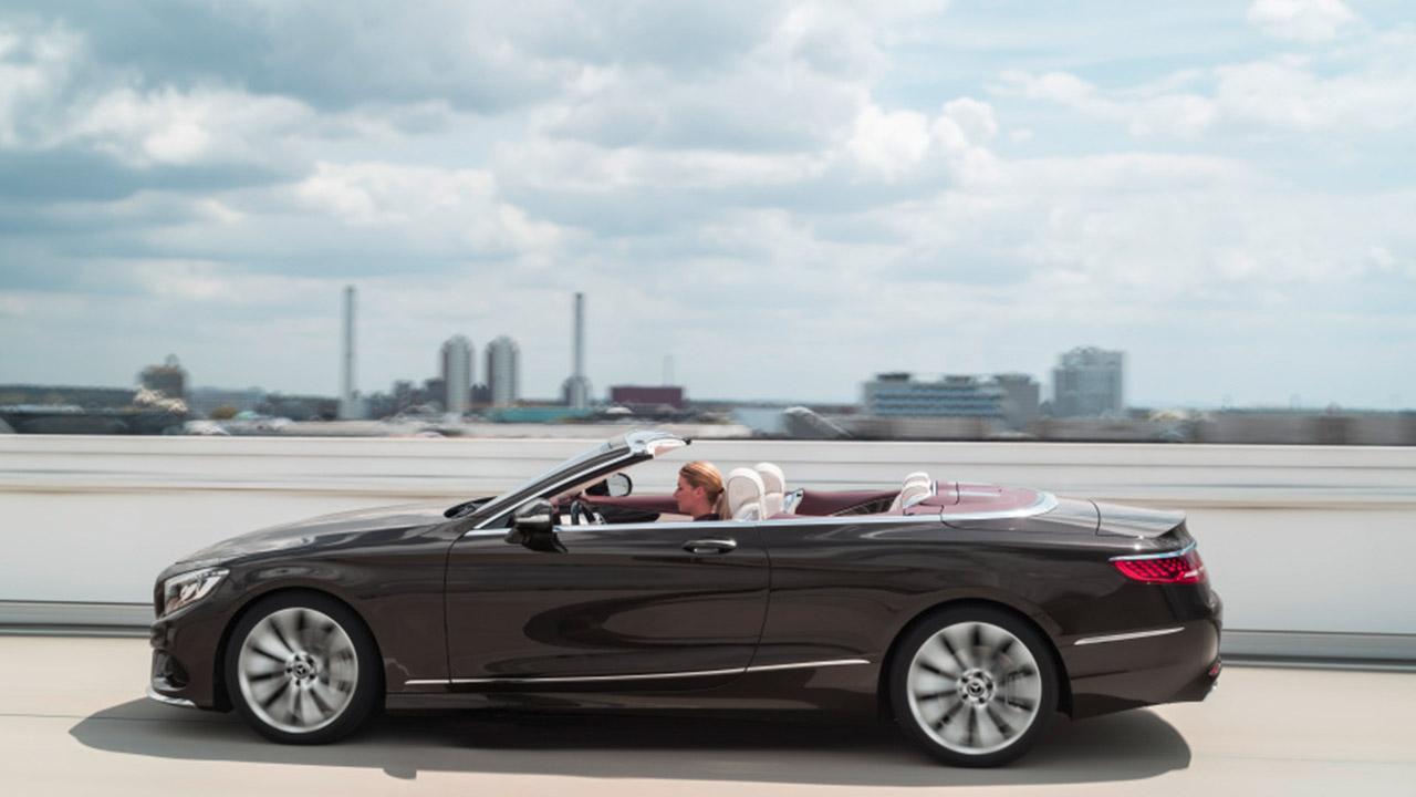 Mercedes-Benz S-Klasse Cabrio - Seitenansicht