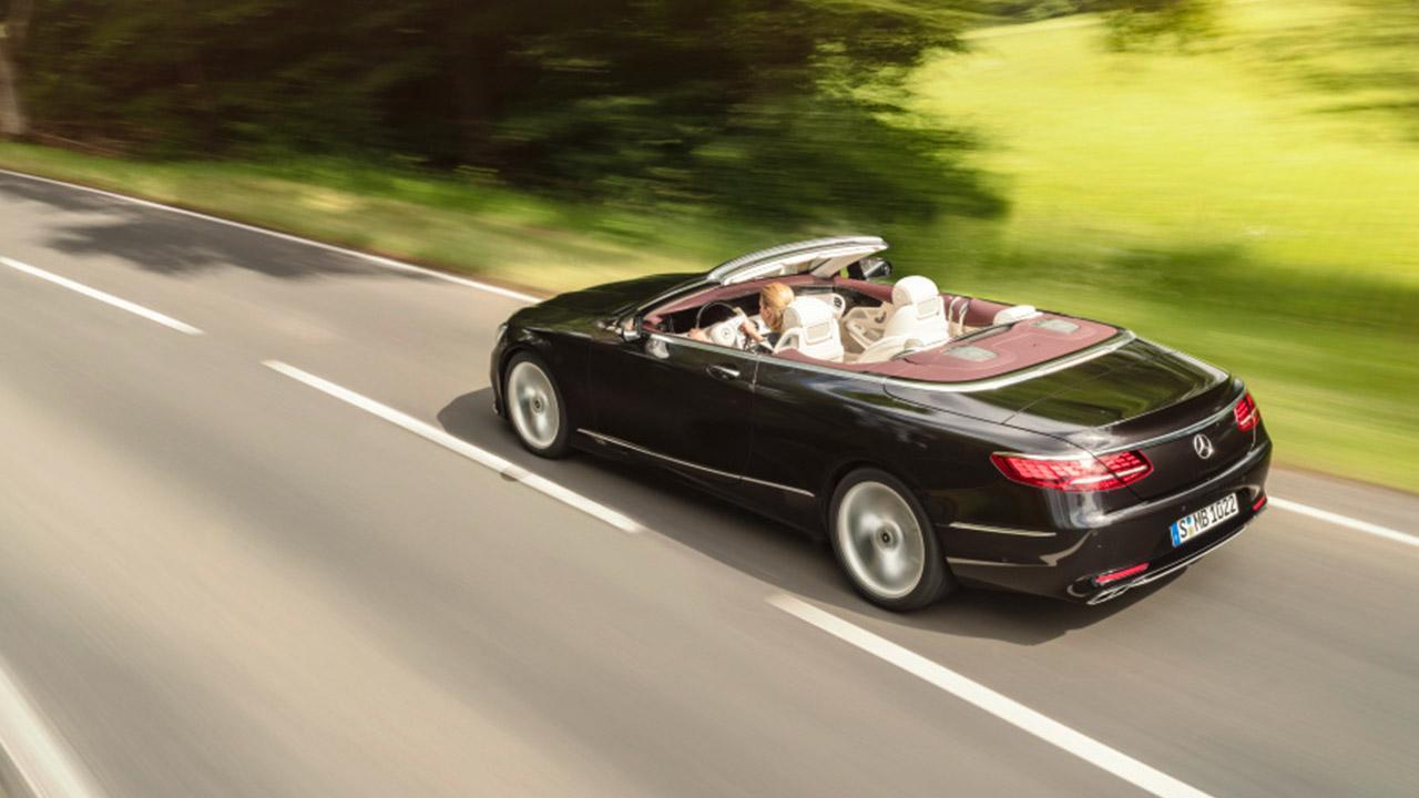 Mercedes-Benz S-Klasse Cabrio - Vogelperspektive