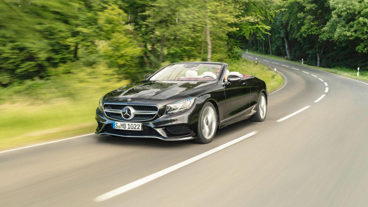 Mercedes-Benz S-Klasse Cabrio - Frontansicht