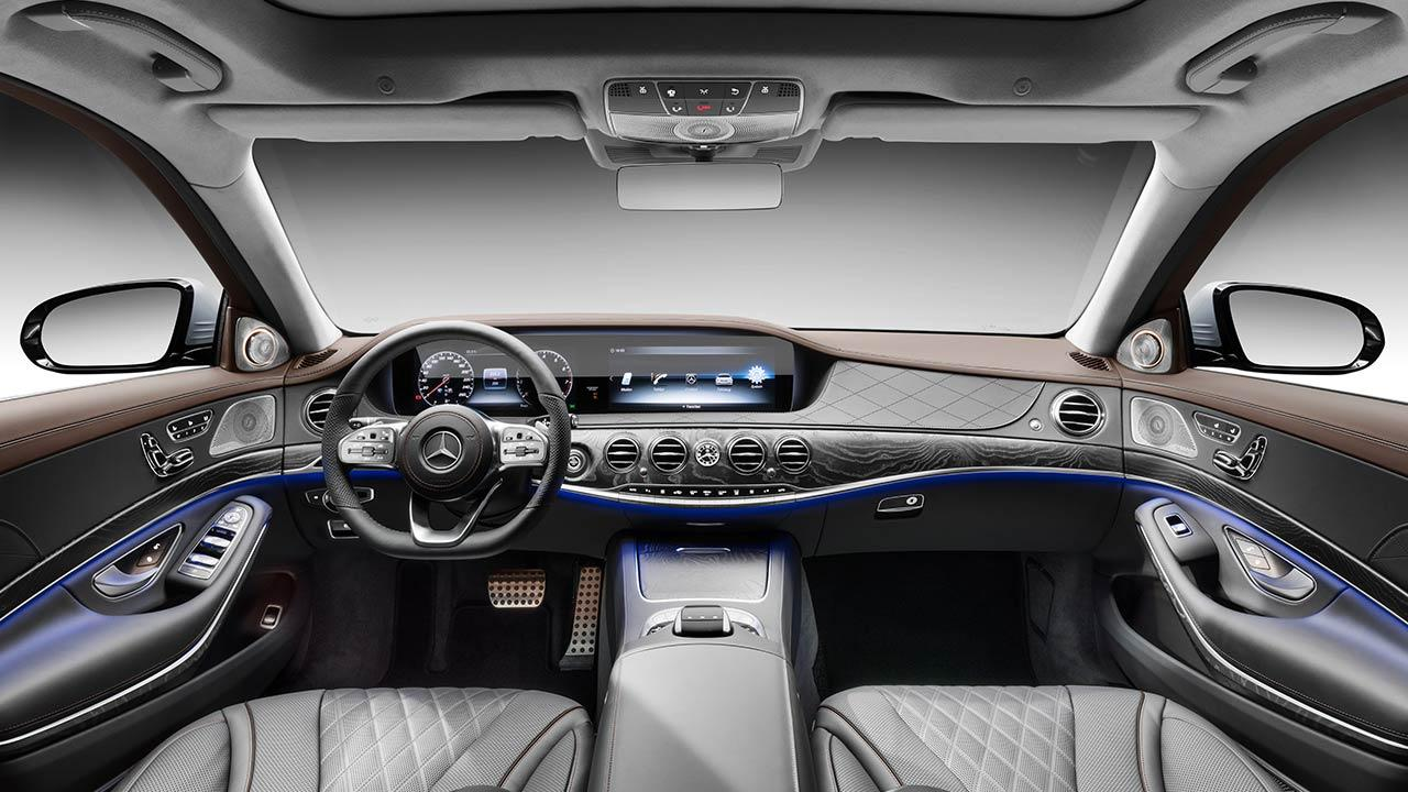 Mercedes-Benz S-Klasse - Cockpit