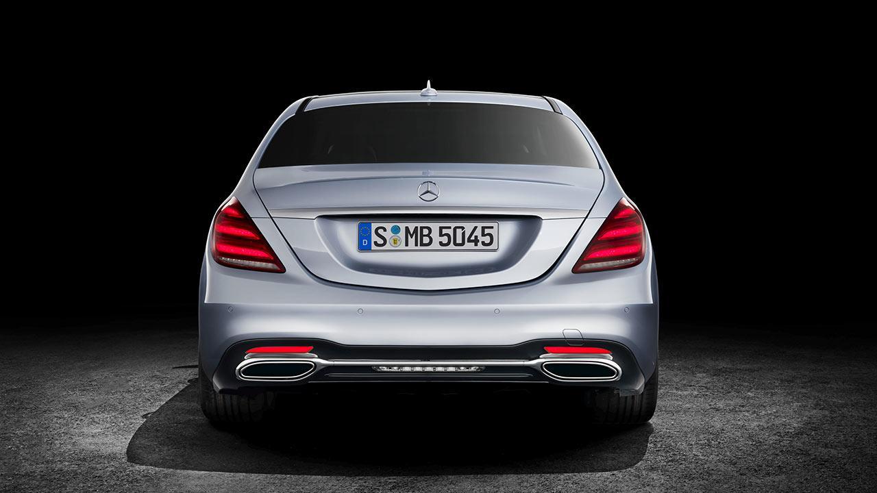 Mercedes-Benz S-Klasse - Heckansicht