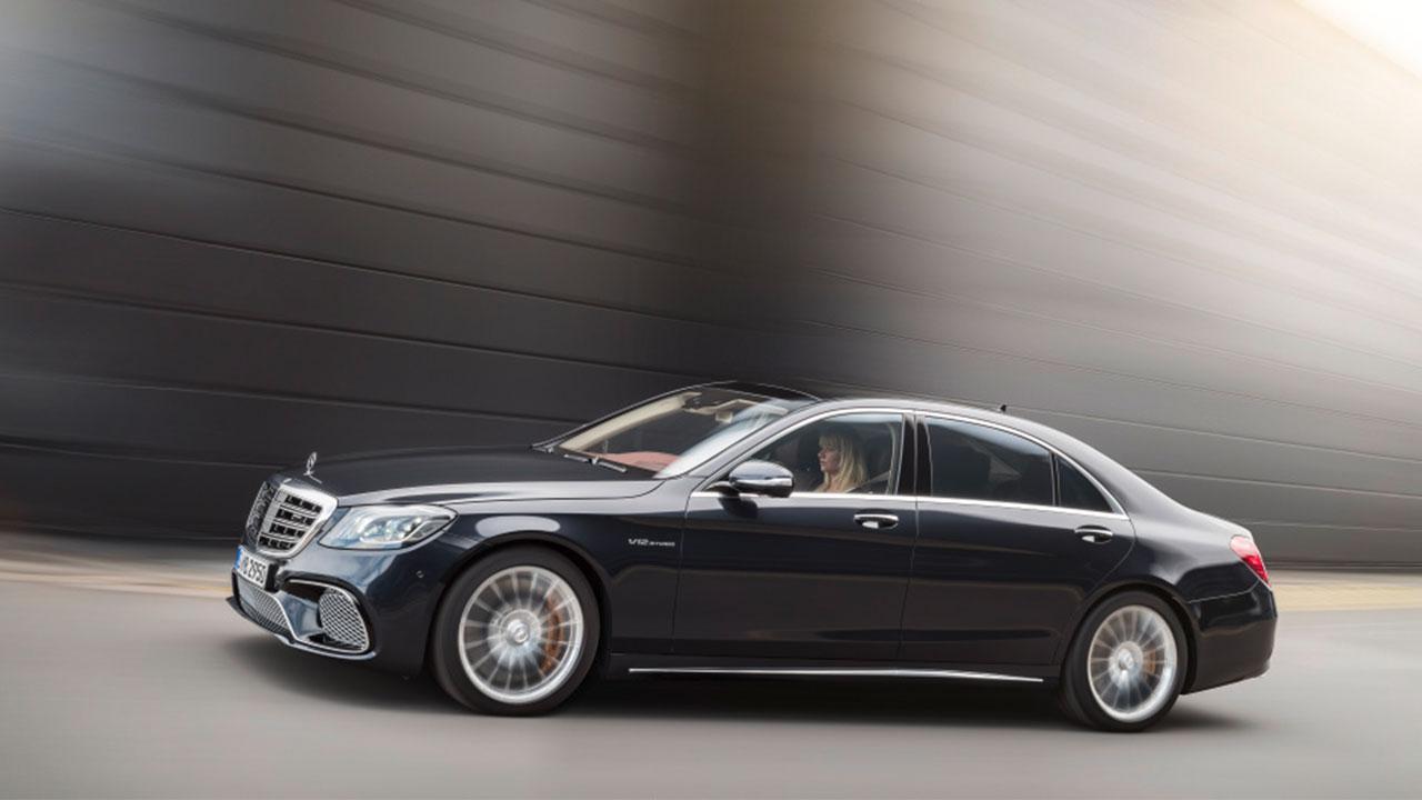 Mercedes-AMG S 65 - Seitenansicht