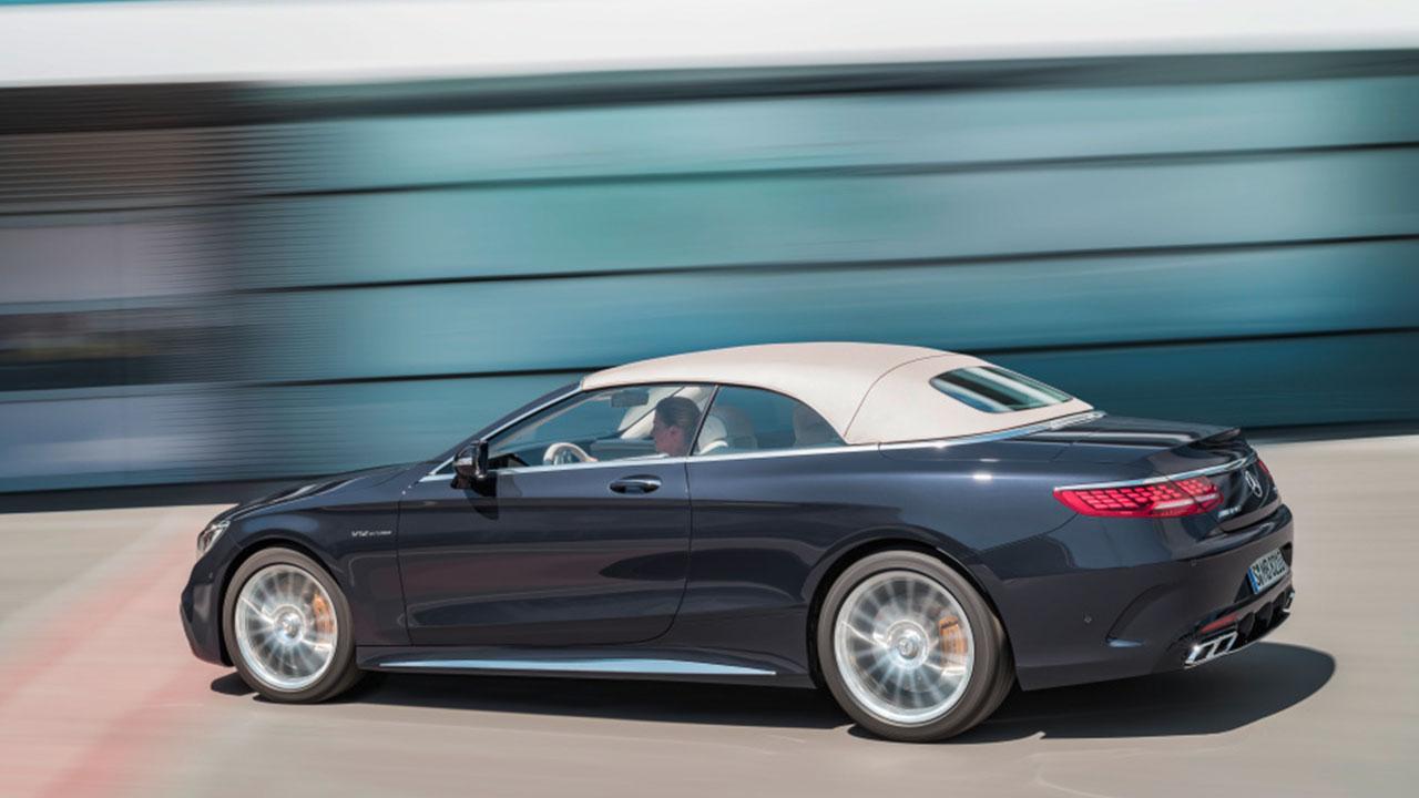 Mercedes-AMG S 65 Cabrio - Seitenansicht