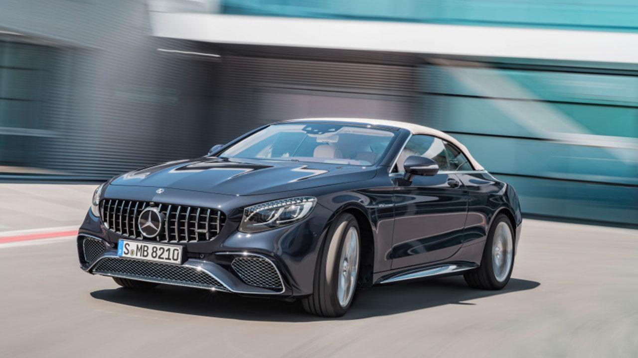 Mercedes-AMG S 65 Cabrio - in voller Fahrt
