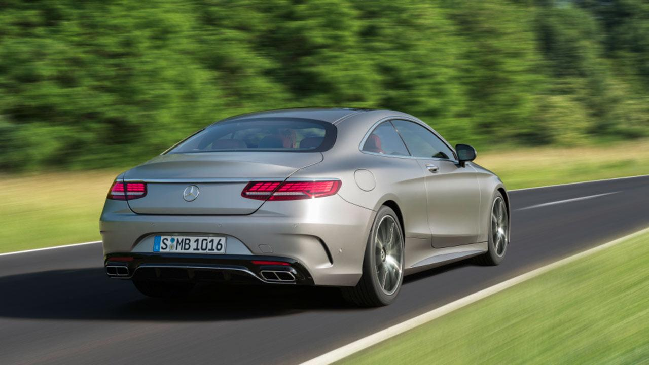 Mercedes-AMG S 65 Coupe - Heckansicht