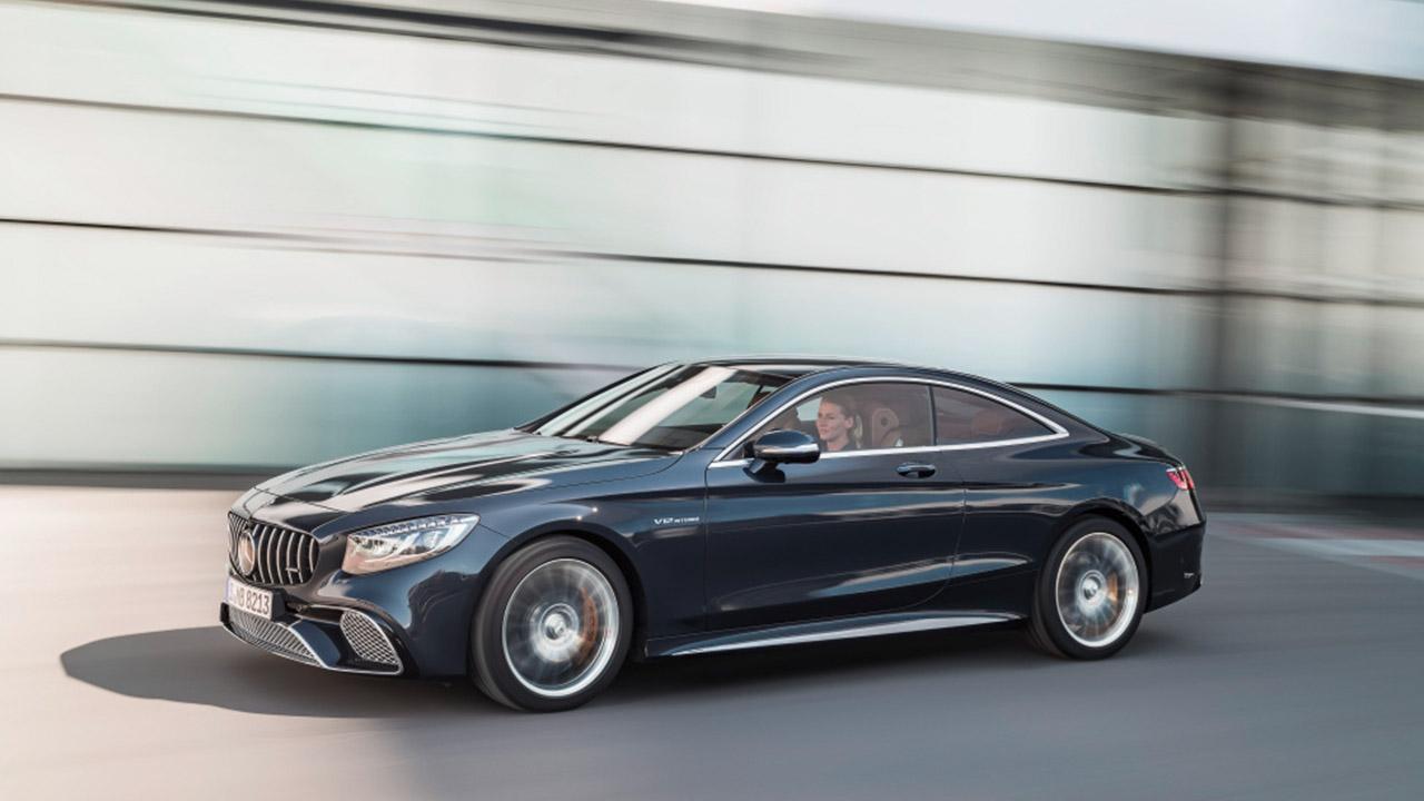 Mercedes-AMG S 65 Coupe - Seitenansicht