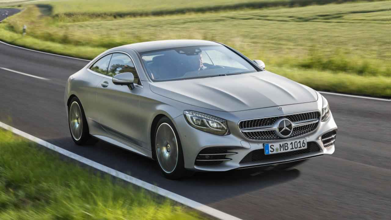 Mercedes-AMG S 65 Coupe - in voller Fahrt
