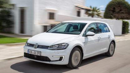 Volkswagen e-Golf - in voller Fahrt