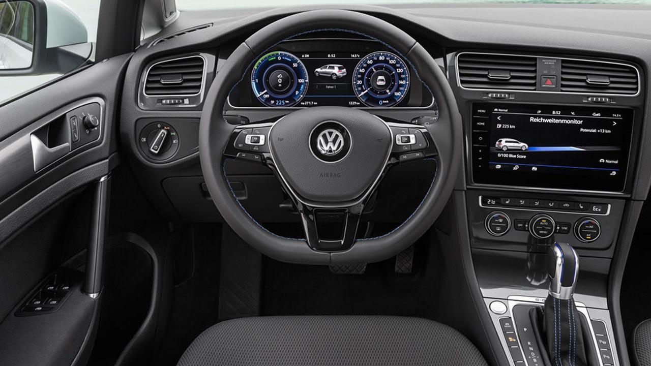 Volkswagen e-Golf - Cockpit