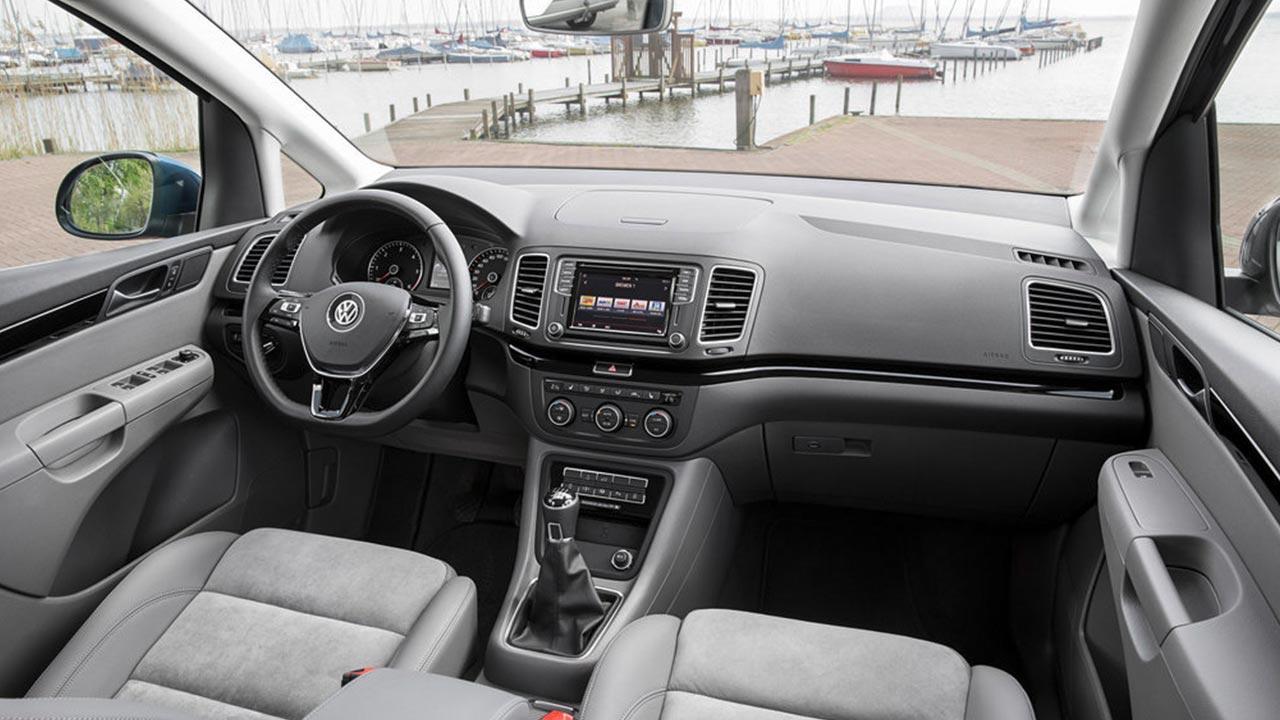 Volkswagen Sharan - Cockpit