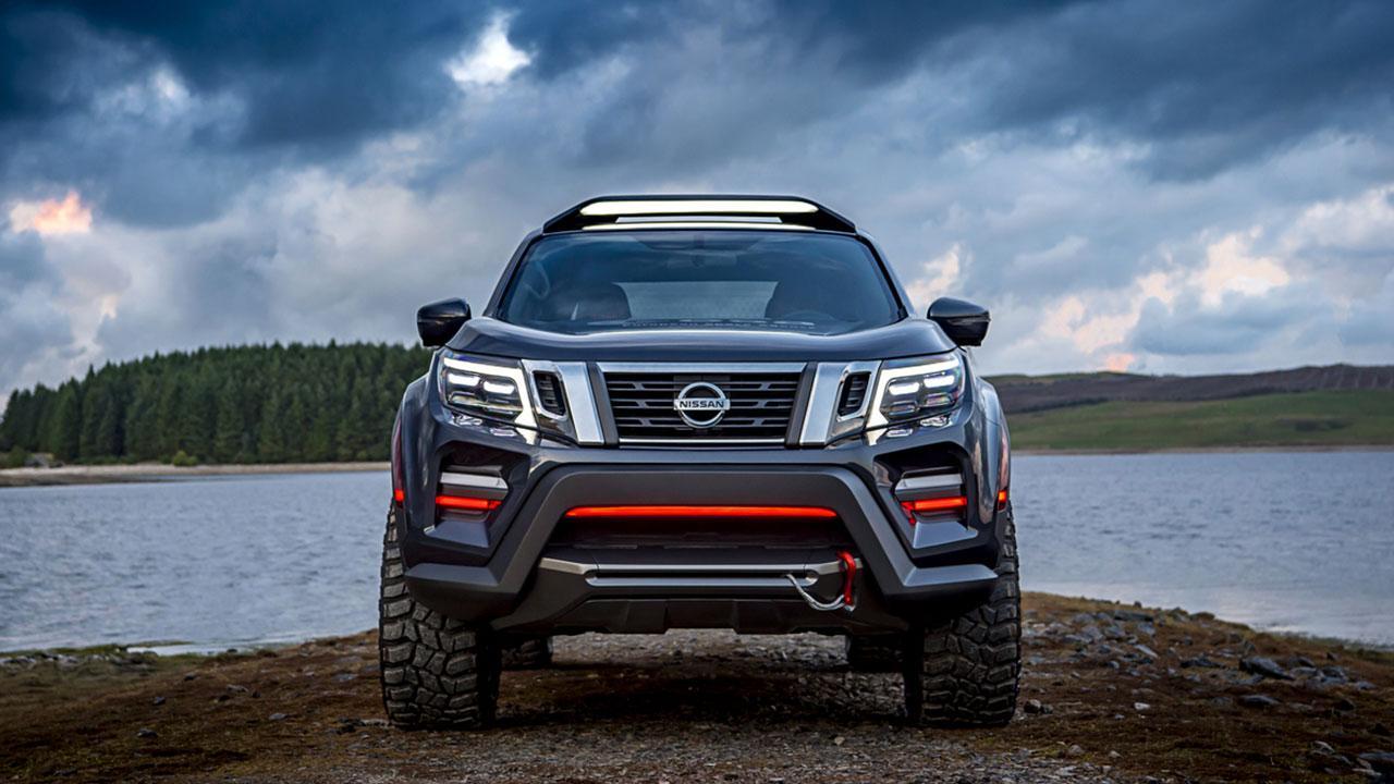 Nissan Navara - von vorn