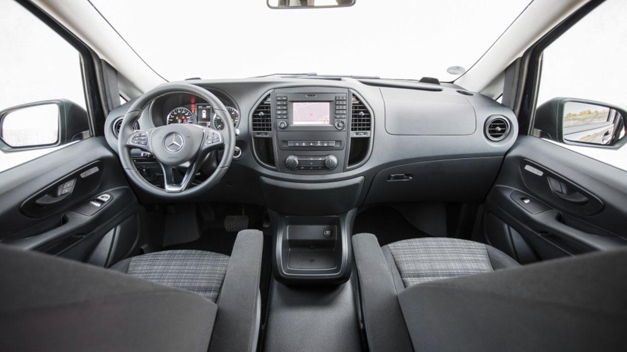 Mercedes Vito - Cockpit