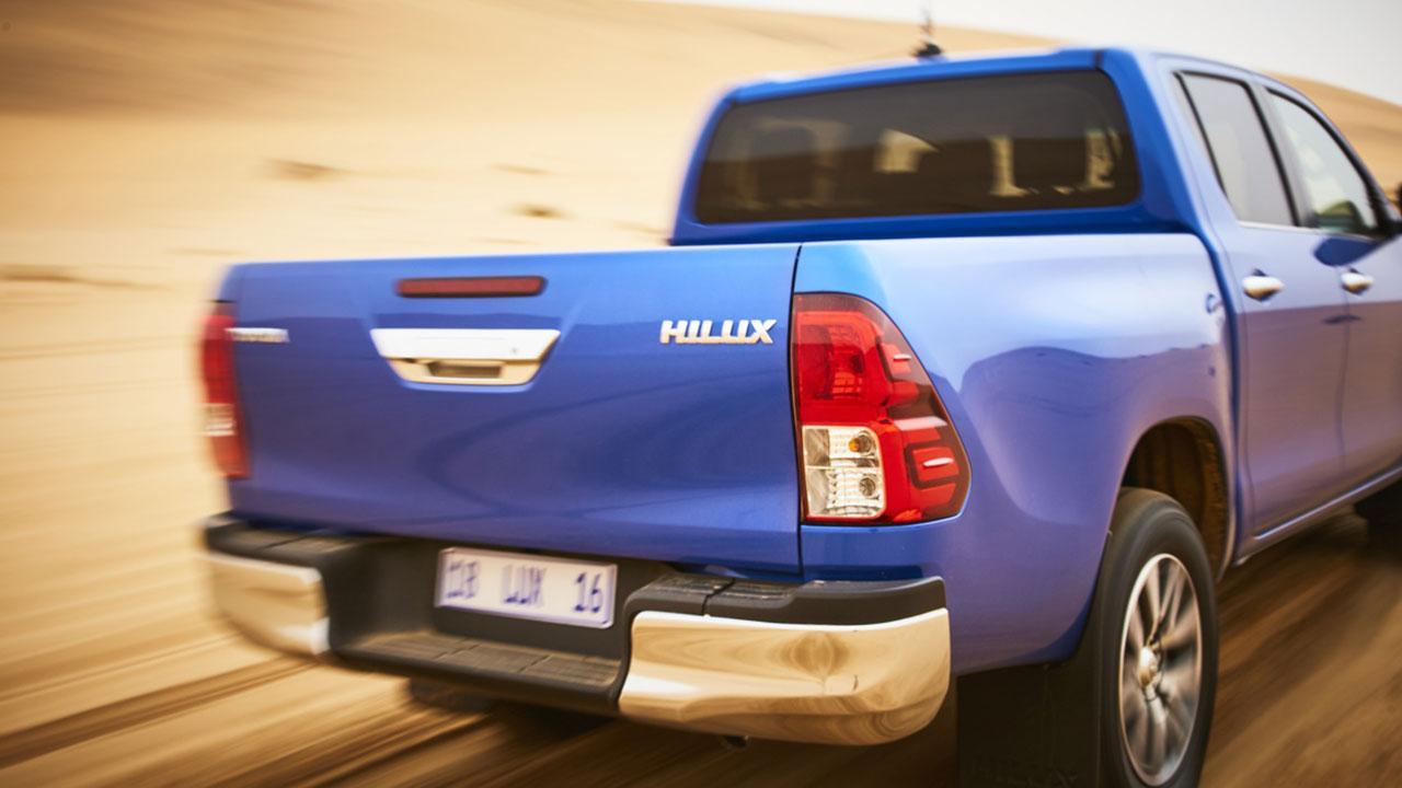 Toyota Hilux - Heckansicht