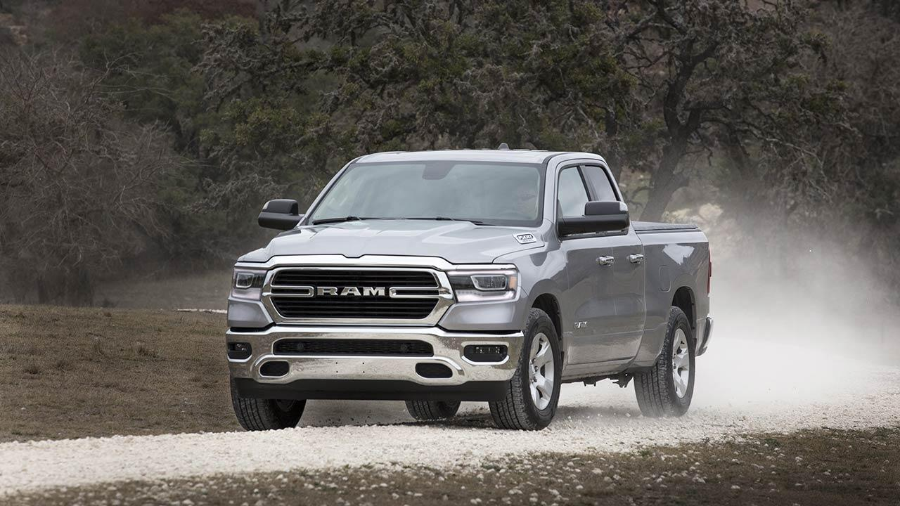 Dodge Ram - in voller Fahrt