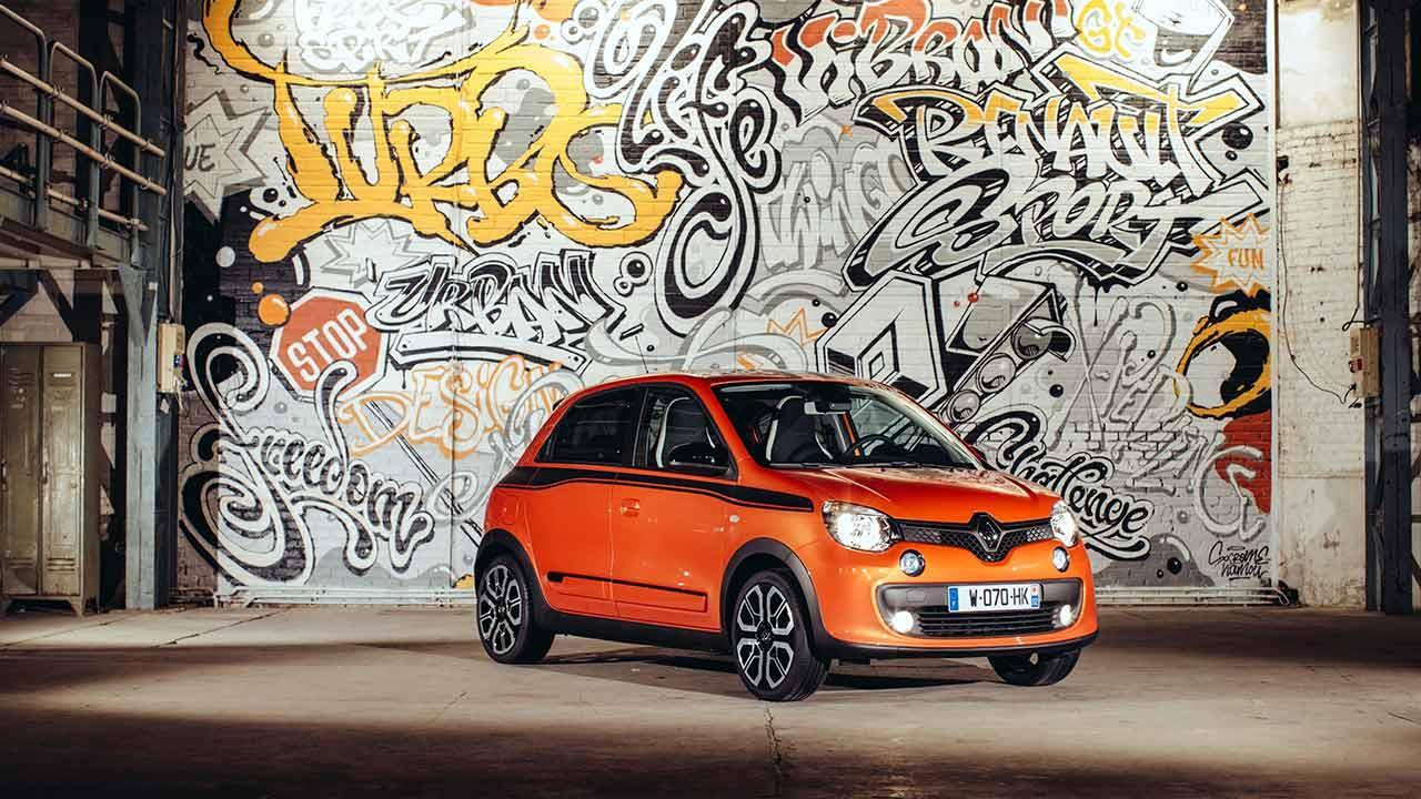 Renault Twingo - in der Halle