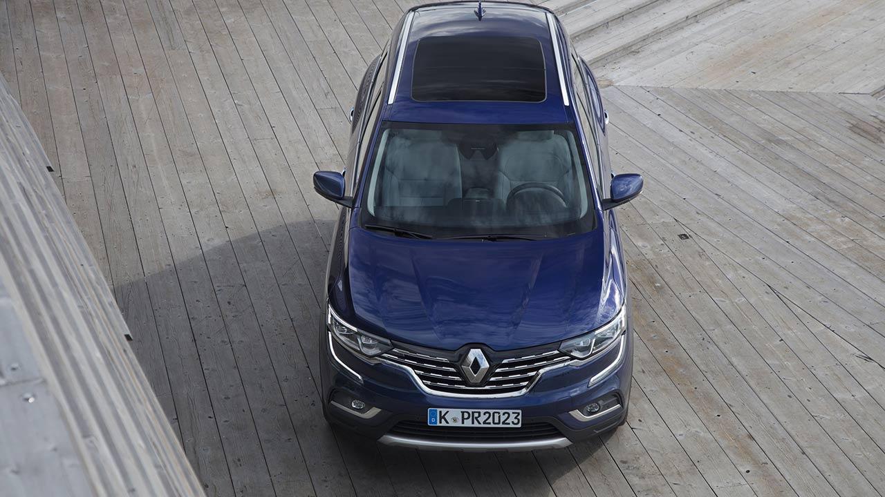 Renault Koleos - Vogelperspektive