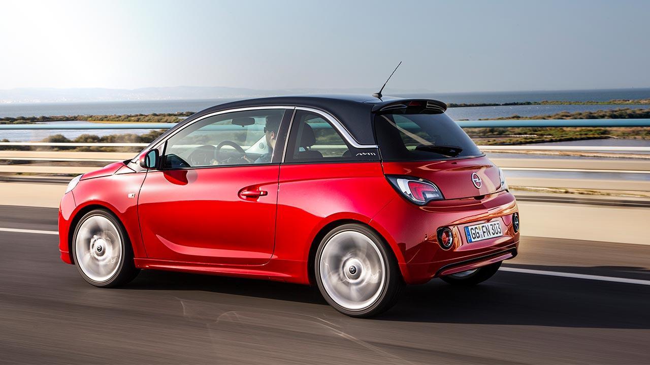 Opel Adam - Seitenansicht