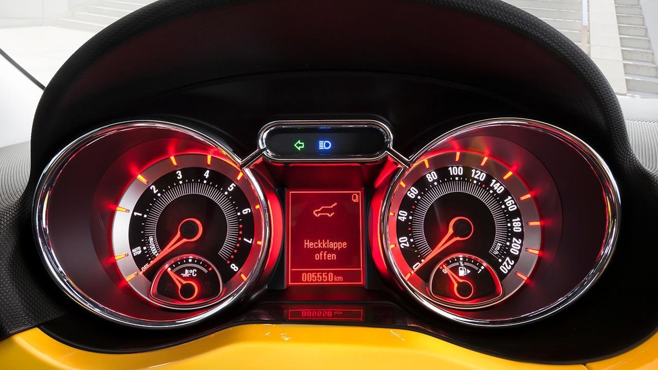 Opel Adam - Cockpit