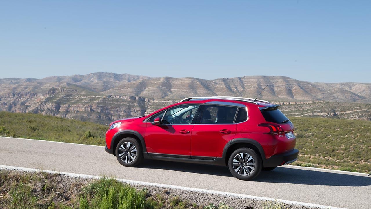 Peugeot 2008 - Seitenansicht