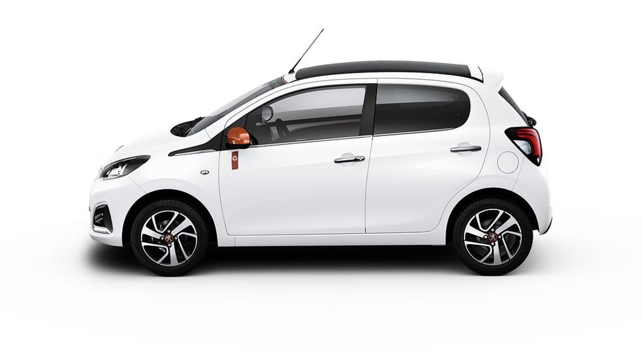 Peugeot 108 - Seitenansicht