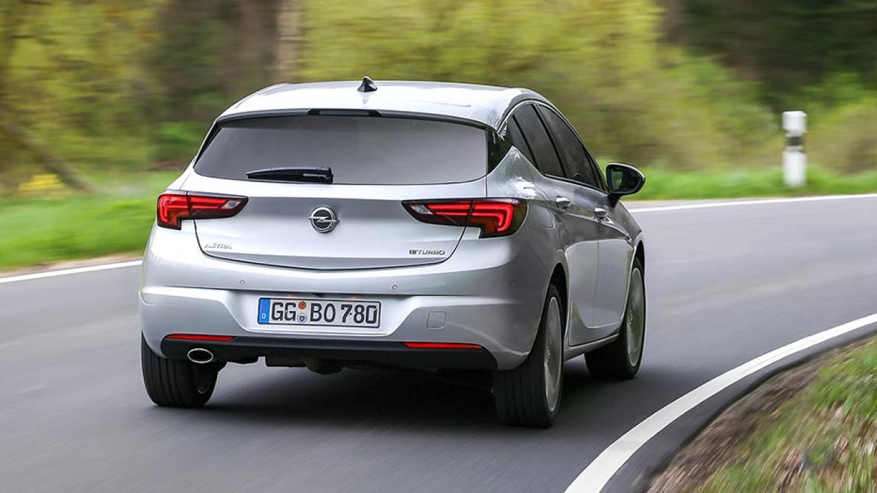 Opel Astra - Heckansicht