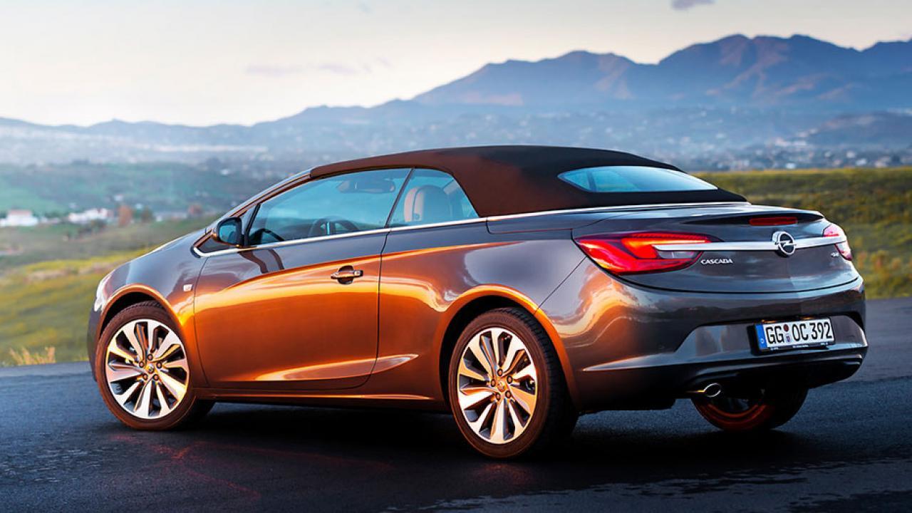 Opel Cascada - Heckansicht