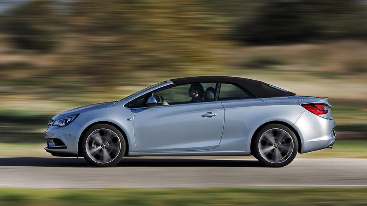 Opel Cascada - Seitenansicht