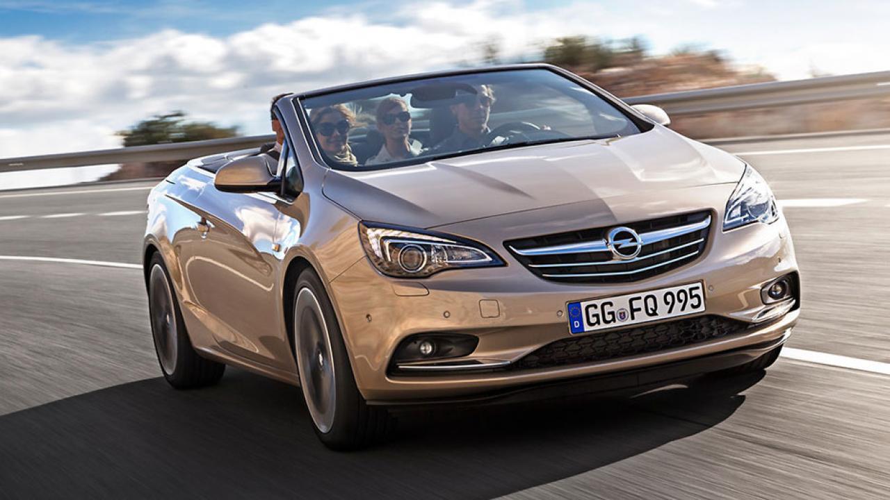 Opel Cascada - Frontansicht