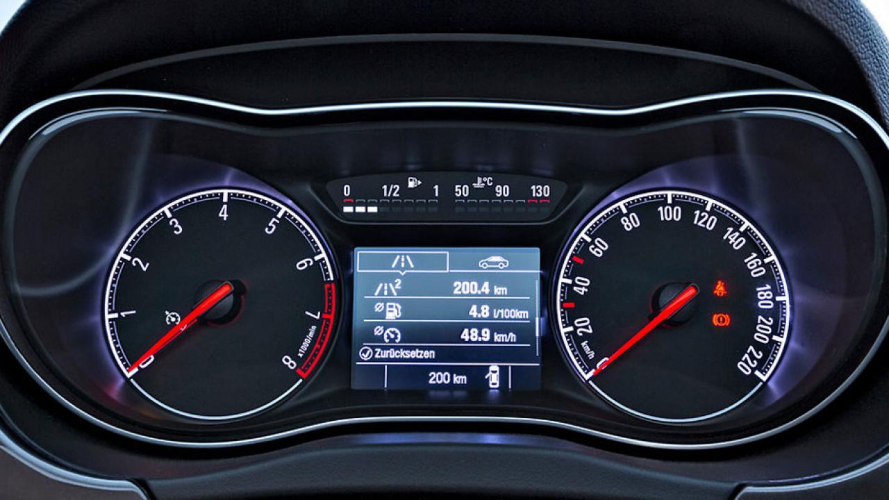 Opel Corsa - Instrumentenanzeige