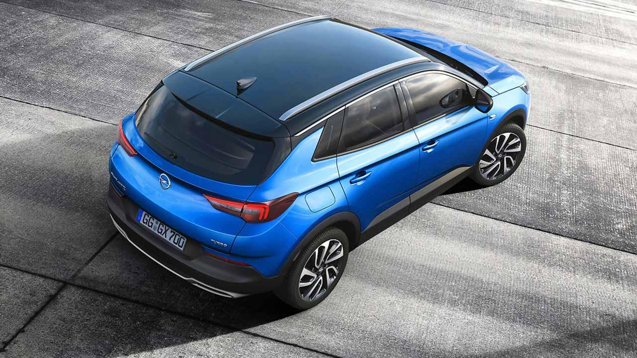 Opel Grandland X - Heckansicht