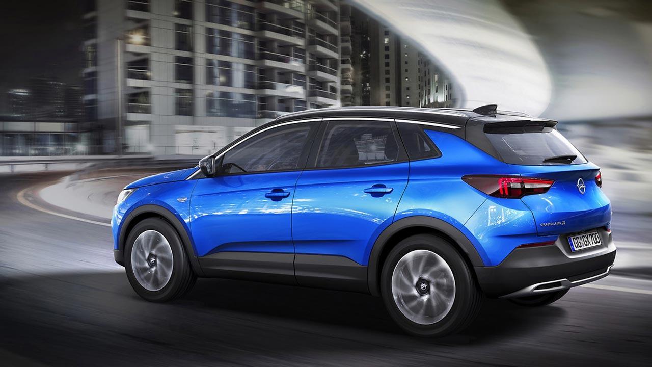 Opel Grandland X - Seitenansicht