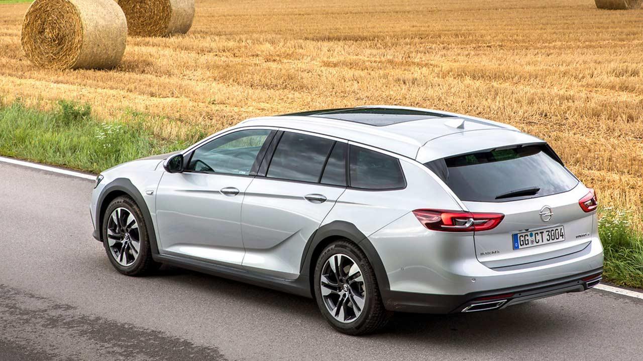 Opel Insignia Country Tourer - Heckansicht